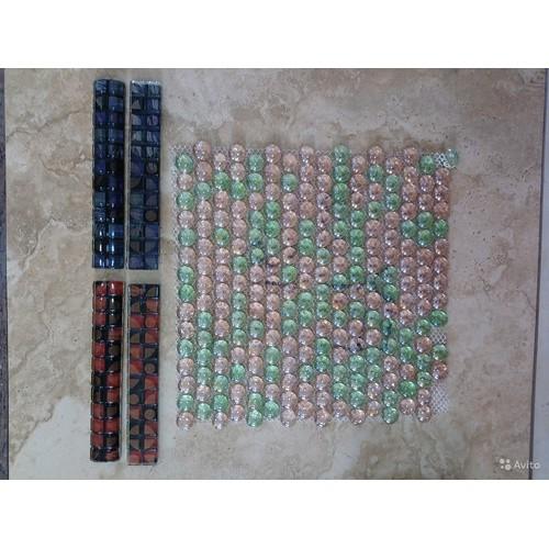 Испанская мозаика и распродажные бордюры